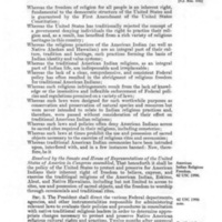 American Indian Religious Freedom Act of 1978- US Congress.jpg