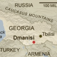Map of Dmanisi