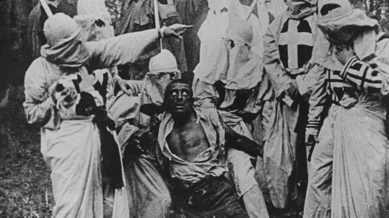 Scene from The Birth of a Nation
