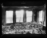 [Interior view of room gutted by fire which killed 146 in 1911 at the Triangle Shirtwaist Company, New York City]