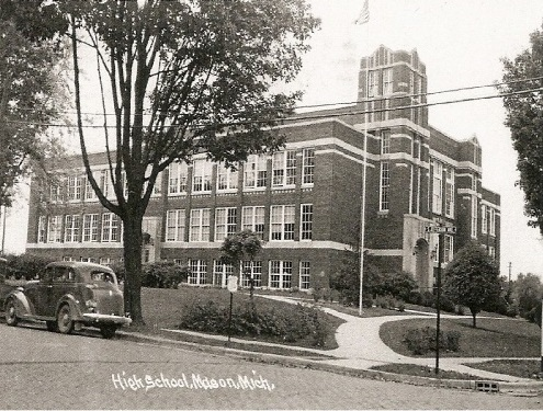 Mason High School: Historical Photograph