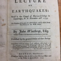 A lecture on earthquakes