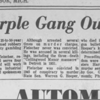 Purple Gang Release