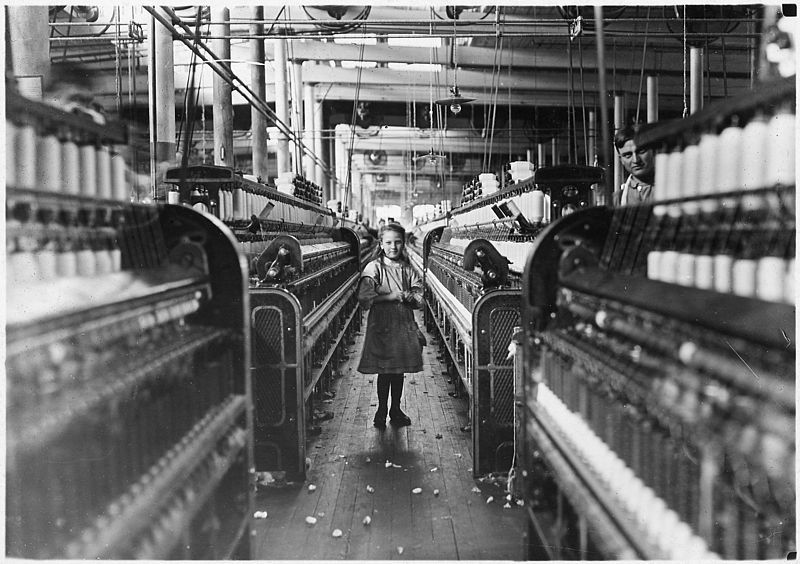 Child Labor in large factories