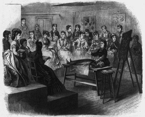 the history of women and education