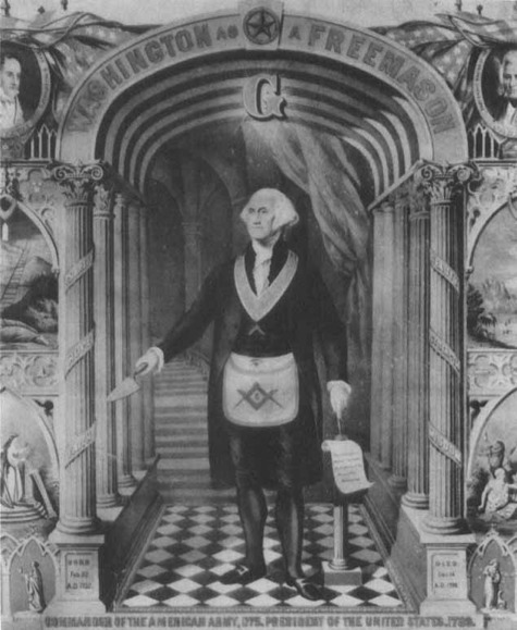 George Washington as a Freemason