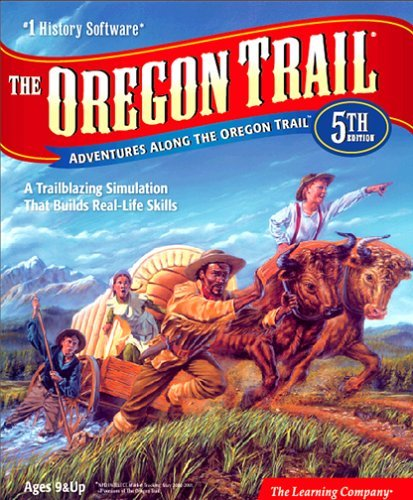 The Oregon Trail computer game cover