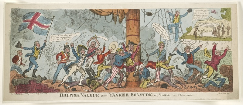 British Valour and Yankee Boasting or, Shannon vs. Chesapeake