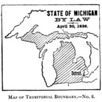 Michigan Territory by Law, 1836.