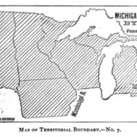 Michigan Territory by Law, 1834.