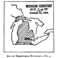 Michigan Territory by Law, 1805.
