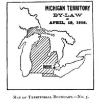 Michigan Territory by Law, 1816.